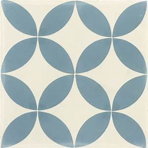 carreau de ciment sol et mur bleu et blanc palmette l20 x With carreaux de ciment bleu