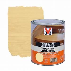Vernis Mat Incolore : vitrificateur escaliers anti goutte v33 mat incolore 750 ~ Premium-room.com Idées de Décoration