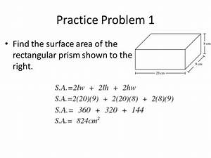 Surface Area. - ppt video online download