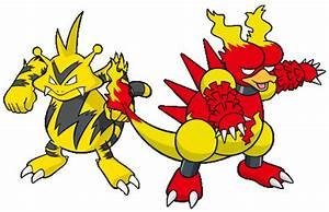 The gallery for --> Electabuzz And Magmar