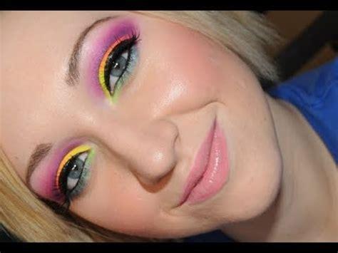 apply rave makeup