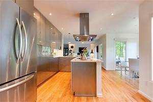 You will able view white kitchen cabinets gray flooring