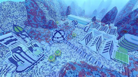 worlds biggest underwater redstone house youtube