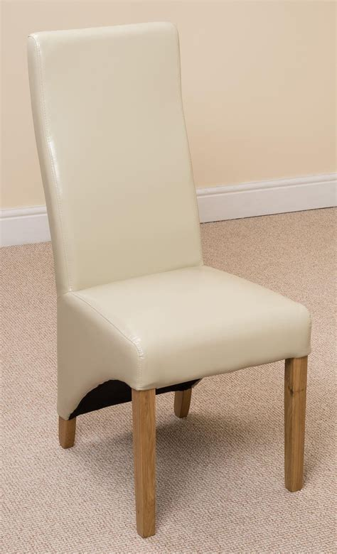 lola dining chair ivory leather dining room chairs