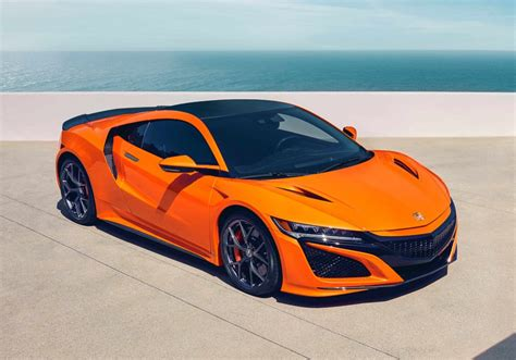2019 acura nsx gets performance appearance and value