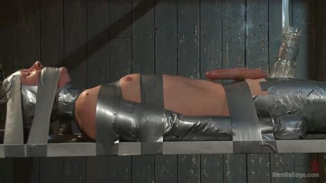 Sexy Lad Zane Anders Bdsm Session Tied Up With Duct Tape