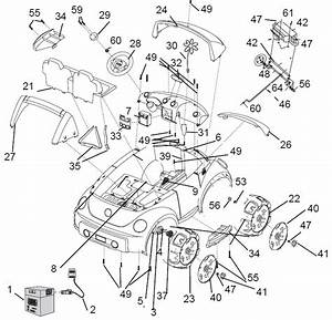 Power Wheels Barbie Dune Beetle 12v Parts