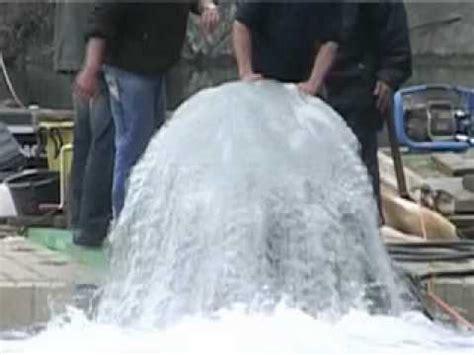 buoyancy hydro amazing airlift pump testsmov youtube