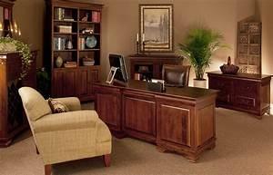 Solid, Wood, Office, Desk-, Morgan, Double, Pedestal, Executive