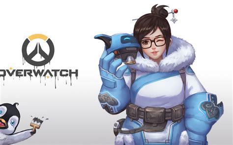 wallpaper mei overwatch hd games