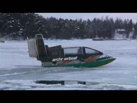 Jet Boat Jumping Beaver Dam by Mini Airboat Doovi