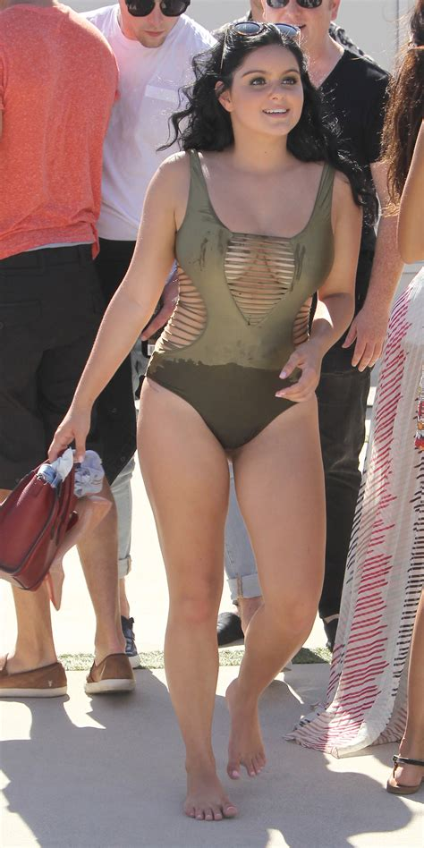 ariel winter swimsuit ariel winter shows off her killer curves in a sexy cutout
