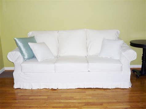 white denim sofa white denim sofa slipcover