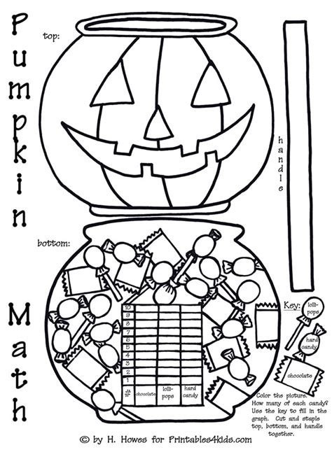 Halloween Math Coloring Squares Worksheets Coloring Pages