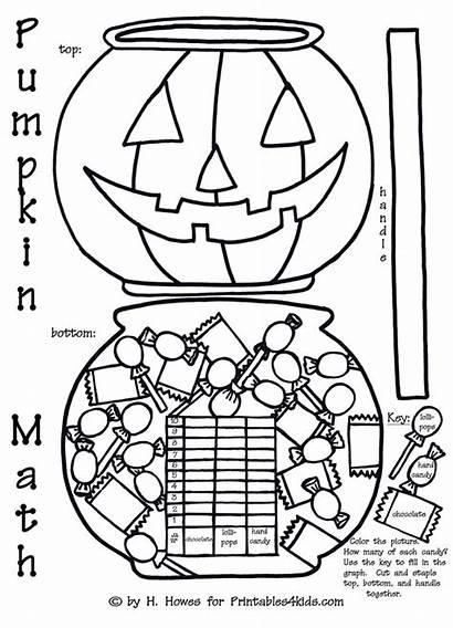 Math Halloween Pumpkin Graphing Activity Graph Coloring