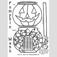 Halloween Pumpkin Trick Or Treat Math Graph Activity  Printables For Kids  Free Word Search