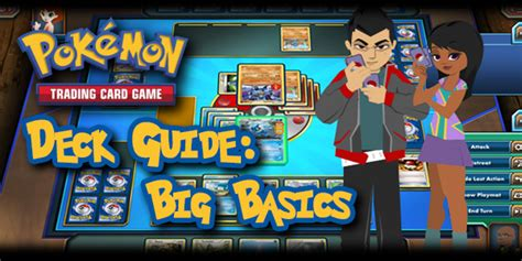 pokemon tcg deck guide big basics trading card games
