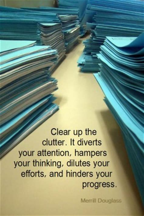 clearing clutter quotes quotesgram