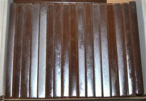 casa antica glass tile casa antica glass pencil border tile strips antique matte satin brown silver ebay