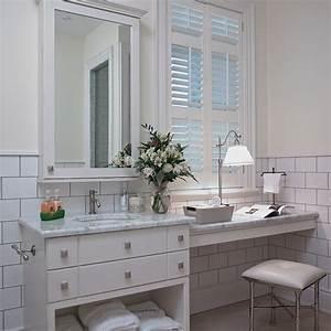 Lavabo Rectangulaire étroit : meuble lavabo en bois de merisier et comptoir de marbre ~ Edinachiropracticcenter.com Idées de Décoration