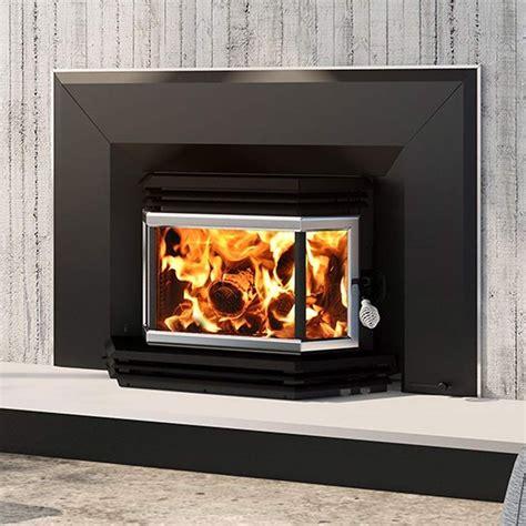 Osburn 1800 Metallic Black Epa Wood Burning Fireplace
