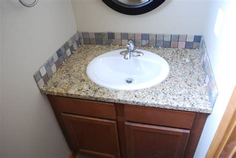 How To Install Glass Tile Backsplash In Bathroom by Bathroom Tile Backsplash