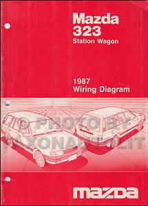 1988 Mazda 323 Station Wagon Wiring Diagram Original