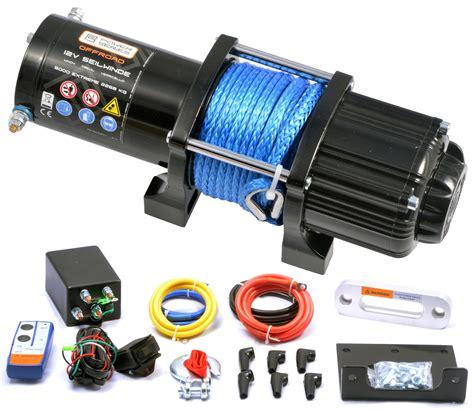 seilwinde 12 volt powerseries 174 12v seilwinde 5000 2268kg