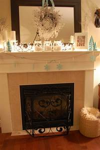 My, Winter, Mantel, 2010, -, A, Pop, Of, Pretty, Blog, Canadian, Home, Decorating, Blog