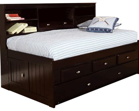 bed with bookcase footboard sterling bookcase daybed headboard footboard twin beds