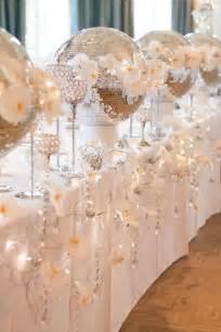 silver wedding decorations sparkling silver winter wedding ideas weddingomania