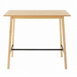 Table Haute 4 Personnes : table manger haute 4 6 personnes l120 etna creakits ~ Melissatoandfro.com Idées de Décoration
