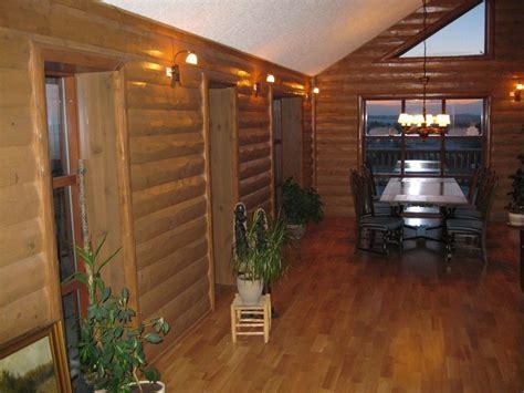 half log siding woodhaven