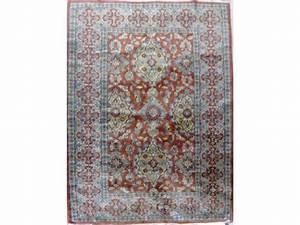 Tapis Jaune Et Bleu : tapis en laine jaune et bleu fond rouille ~ Dailycaller-alerts.com Idées de Décoration