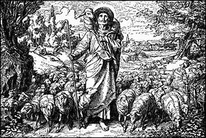 The Parable of the Good Shepherd Coming Home with the Lost ...