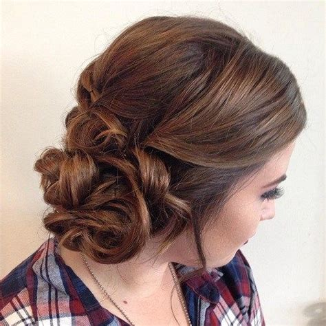 vely low bun hairstyles foliver 17 best ideas about curly bun hairstyles on 20 l