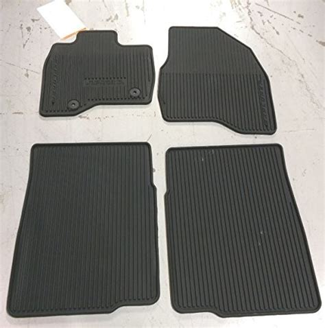 Ford Explorer All Weather Floor Mats - ford explorer accessory floor mats all weather