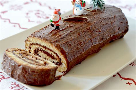 recette cuisine noel facile recette de buche de noel au chocolat facile