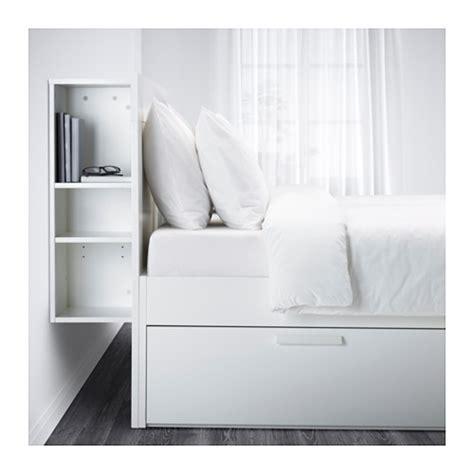 brimnes bed frame with storage headboard full ikea