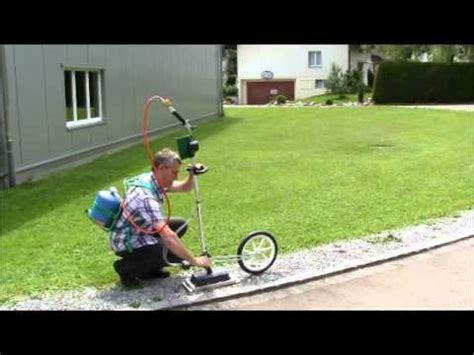 rasendünger mit unkrautvernichter unkrautvernichter infraweeder eco butan mit radset