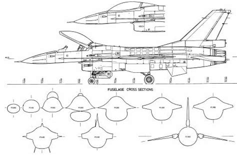 General Dynamics Electric Boat Spars by General Dynamics F 16 Drawing Aircraft