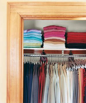 Colorcode Your Wardrobe  Inspirational Closets  Real Simple
