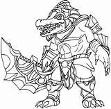 Renekton Legends League Coloring Printable Lol Champion Categories Visit Version sketch template