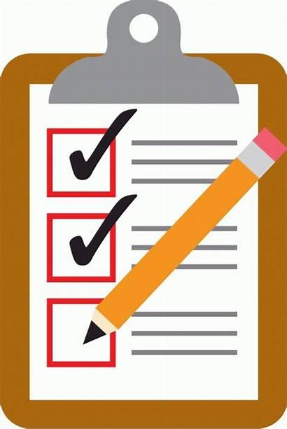 Checklist Clipart Clipboard Example Letters Clipartix