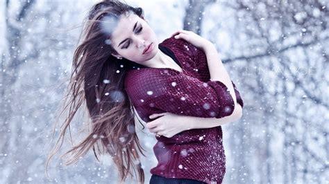 Winter Girls Dpz 4k Wallpapers Hd Saf Wallpapers