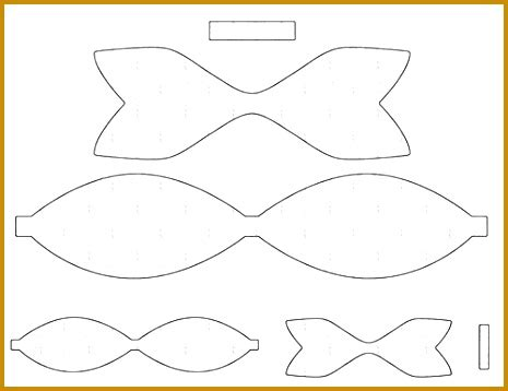 Bow Tie Template Free by Bow Tie Printable Pattern Erieairfair