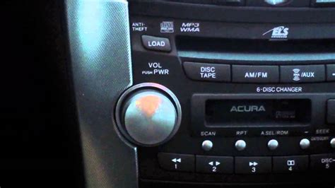 2002 Acura Tl Radio Code by How To Set Your Radio Presets On A Acura Tl