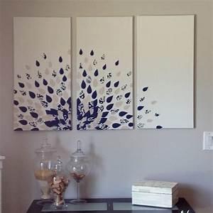 Diy wall art canvas decor craft ideas