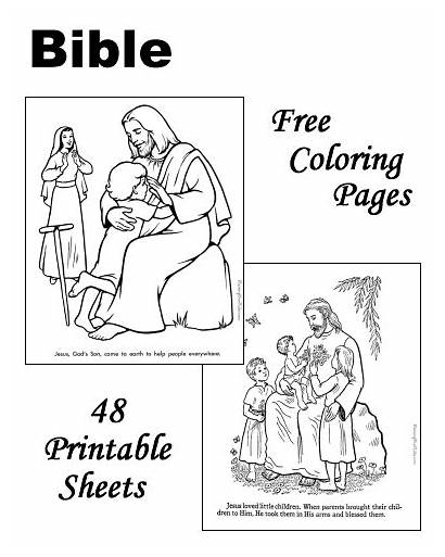 Bible Coloring Pages Printable Raising