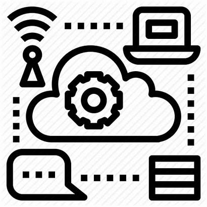 Icon Technology Infrastructure Icons Iot Computer Internet